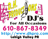 D.H. Productions DJs For All Occasions